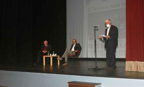 Maurizio Landini e la ricetta per ridare dignità al lavoro al Teatro Artemisio-Volonté di Velletri