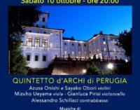 """Il Quintetto d'Archi dell'Orchestra da Camera di Perugia per i Concerti degli """"Sfaccendati"""" al Palazzo Chigi di Ariccia"""
