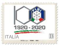 Emissione francobollo Federazione Italiana Sport Invernali
