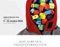 Bonioni Arte, Reggio Emilia   Jose' Demetrio e Francesca Marchisio, Home. #weareallinfinite