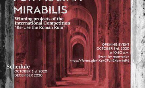 """Parte la mostra """"Visioni per Piscina Mirabilis""""  al Castello di Baia"""