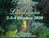 Autunno alla Landriana: 2,3,4 ottobre di colori e sapori