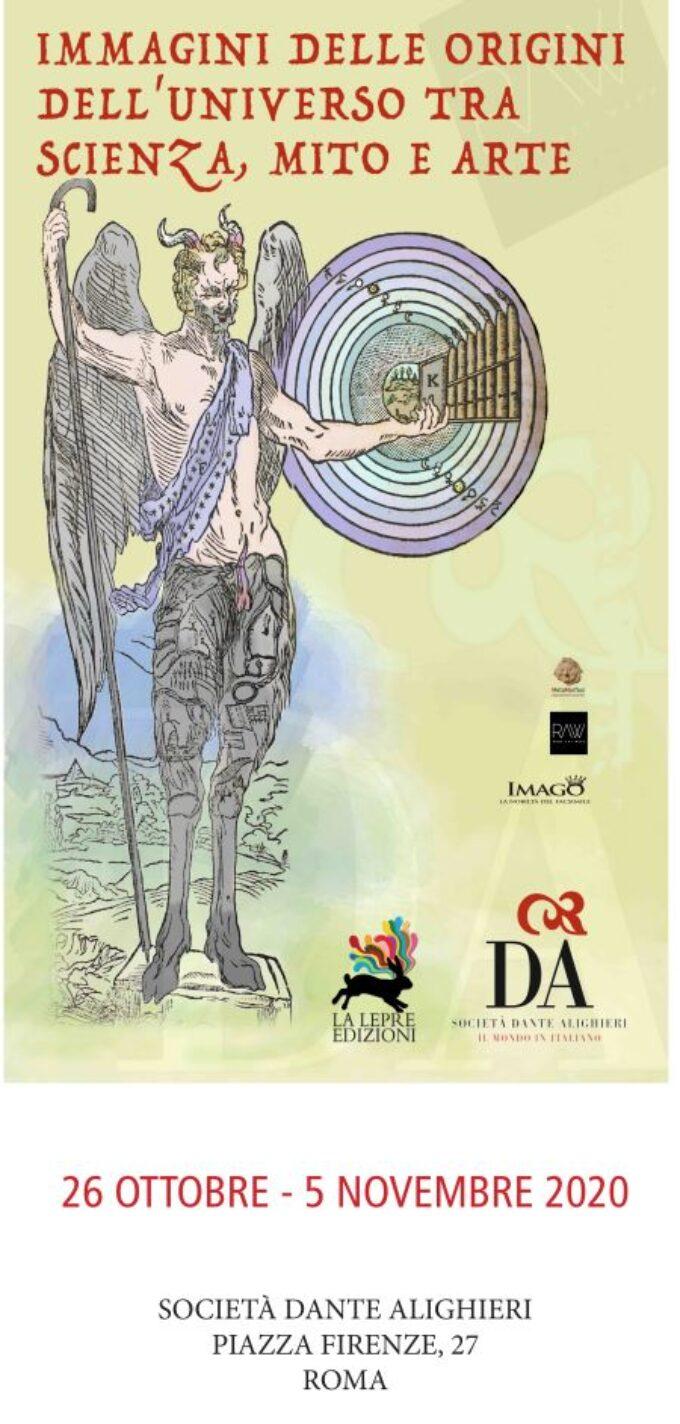 """Rome Art Week a Palazzo Firenze """"Immagini delle origini dell'universo, tra scienza, mito e arte"""""""