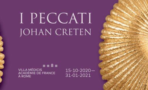 I PECCATI di Johan Creten in mostra all'Académie de France à Rome – Villa Médicis (15 ottobre 2020 – 31 gennaio 2021)