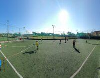 """Football Club Frascati sempre sul pezzo: ecco il """"calcio balilla umano"""" per la Scuola calcio"""