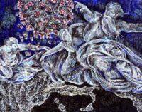 Collage coronavirus a cura di Paolo D'Arpini – Destra e sinistra ed il vessillo comune…