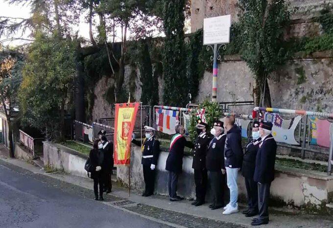 Il Comune di Cori commemora il brigadiere Ezio Lucarelli vittima del terrorismo
