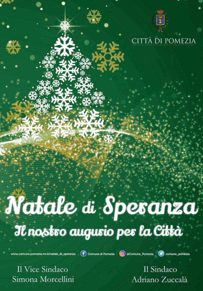 Natale di Speranza, Pomezia e Torvaianica si illuminano di verde