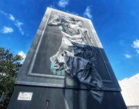 Outside In Di JDL Il primo murales green omaggio al movimento LGBT+