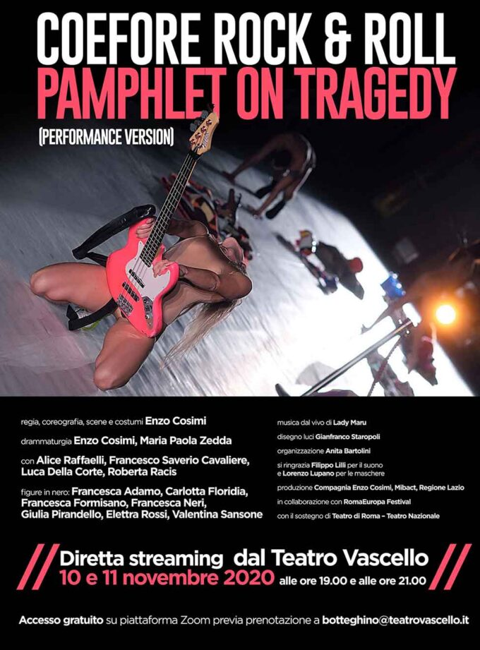 COEFORE ROCK & ROLL – PAMPHLET ON TRAGEDY(performance version)