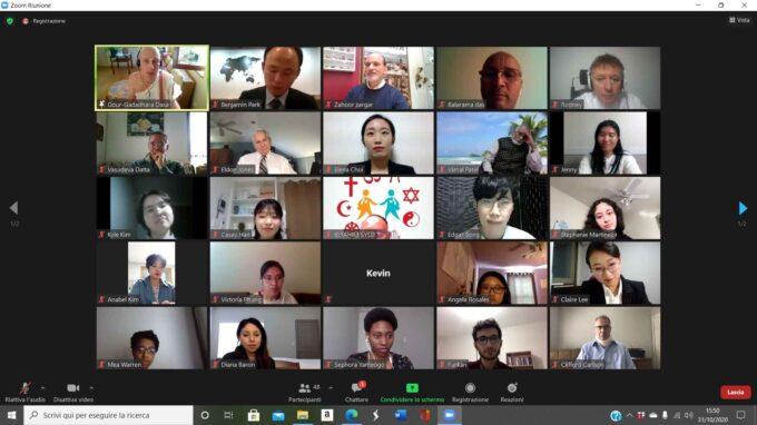 Video conferenza tra continenti
