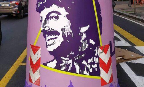 GAU – GALLERIE URBANE. La street art al servizio di Roma, 75 campane del vetro diventano opere d'arte.
