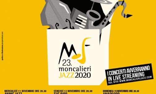 MONCALIERI JAZZ 2020 (11-15 Novembre 2020)