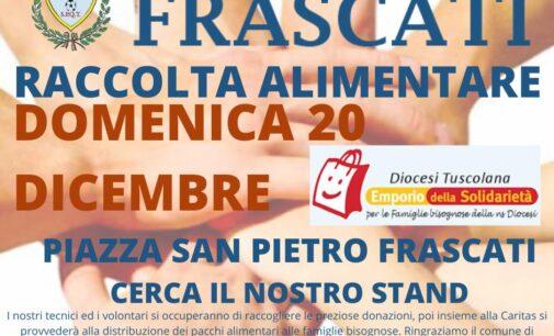 Football Club Frascati, un Natale di solidarietà: domenica la raccolta di generi alimentari in piazza