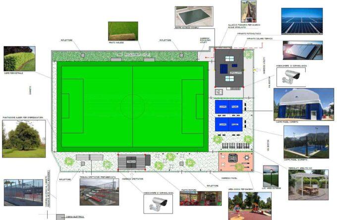 Nuova vita per l'impianto sportivo comunale di via Zara a Torvaianica