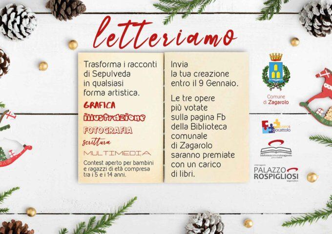 """La Biblioteca comunale di Zagarolo – """"Natale con noi"""", apre il contest """"letteriamo"""""""
