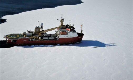 Antartide: la rompighiaccio Laura Bassi alla volta della stazione italiana Mario Zucchelli