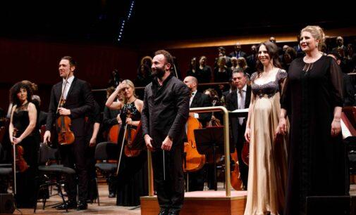 Auditorium Parco della Musica, Sala Santa Cecilia –  CONCERTO DI NATALE