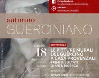 """AUTUNNO GUERCINIANO 2020/2021 Incontro """"Pitture murali del Guercino a Casa Provenzali"""""""