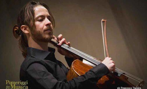 Il violoncello di Michele Marco Rossi per il concerto conclusivo del 56° Festival Pontino di Musica