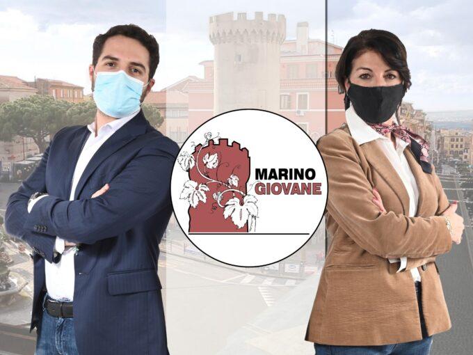 AMMINISTRATIVE 2021, MARINO GIOVANE  AL FIANCO DI GABRIELLA DE FELICE