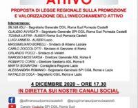 INVECCHIAMENTO ATTIVO – INIZIATIVA CGIL E SPI ROMA SUD POMEZIA CASTELLI