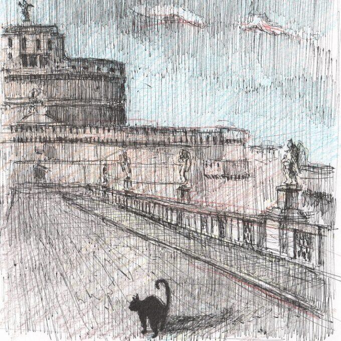 Roma. Viaggio segreto con Eros – Dal 3 dicembre la nuova storia illustrata di Roberto Di Costanzo