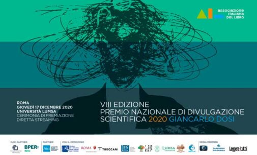 """La finalissima del """"Premio Nazionale di Divulgazione Scientifica"""""""