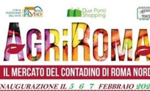 A Roma Nord arriva AgriRoma, inaugurazione il 5 – 6 – 7 Febbraio 2021