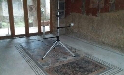 Parco Archeologico di Ercolano, alla Casa del Bicentenario il sistema di monitoraggio ambientale