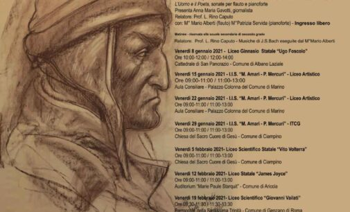 DANTE, L'UOMO E IL POETA : EPIFANIA CULTURALE PER I CASTELLI ROMANI
