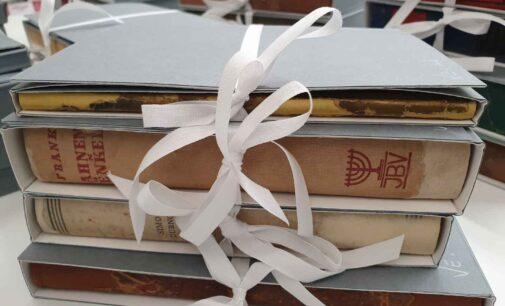 Formula Servizi per la Cultura restaura 96 volumi della Fondazione Villa Elma