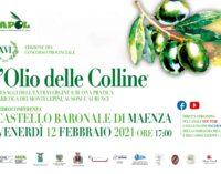 L'Olio delle Colline in videoconferenza, il 12 febbraio Maenza ospiterà la XVI edizione