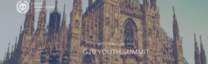 MARINO – AL VIA LE CANDIDATURE PER DIVENTARE YOUTH AMBASSADOR ITALIANI AL G7 E AL G20