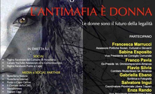 Pantelleria: si parla di antimafia al femminile