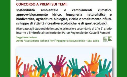 """""""Io l'ambiente dei laghi lo salvo così"""": il concorso rivolto agli studenti delle scuole di Albano Laziale."""