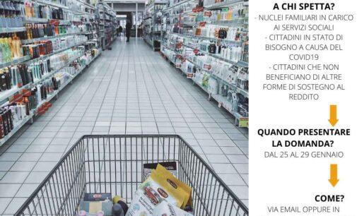 MONTE COMPATRI – BUONI SPESA: PUBBLICATO L'AVVISO PER RICHIEDERE IL NUOVO BENEFICIO