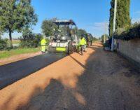 Strade a Pomezia, completati i lavori di manutenzione nel quartiere Vicerè