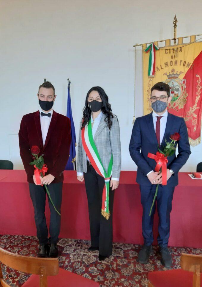 Prima unione civile tra due uomini a Valmontone