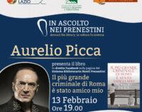 """Roma, il criminale, l'amicizia: """"In ascolto nei Prenestini"""" ospita Aurelio Picca"""