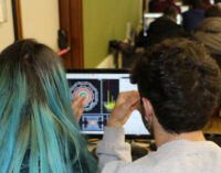 Studenti delle superiori alle prese con i dati del CERN all'Università Sapienza di Roma
