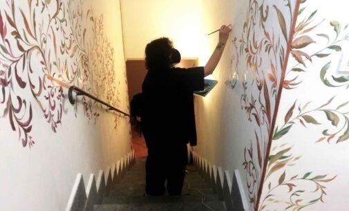 L'ARTISTA PROPERZI DONA LA SUA OPERA ALLA COMUNITÀ DI MONTE COMPATRI