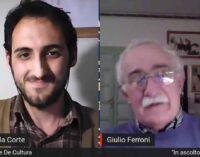"""L'Italia di Dante con il professor Giulio Ferroni a """"In ascolto nei Prenestini"""""""