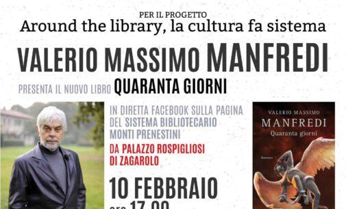 Zagarolo – invito presentazione Valerio Massimo Manfredi