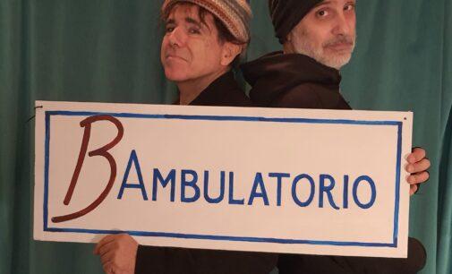 "Teatro Villa Pamphilj – Roma – BAmbulatorio –""I Nonni"""