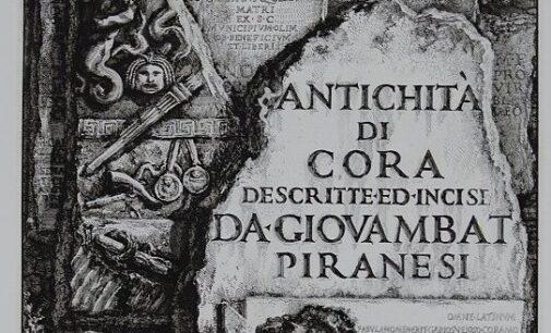 A Cori riapre Piranesi
