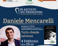 """Con Daniele Mencarelli """"Tutto chiede salvezza"""""""