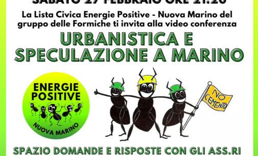 Evento 27 febbraio Energie Positive Nuova Marino