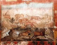 POMPEI – TORNA AL SUO SPLENDORE IL GRANDE AFFRESCO DEL GIARDINO DELLA CASA DEI CEII