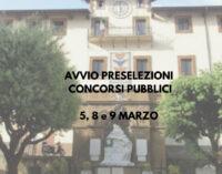 MONTE COMPATRI – CONCORSI PUBBLICI: DAL 5 ALL'8 MARZO LE PROVE PRESELETTIVE